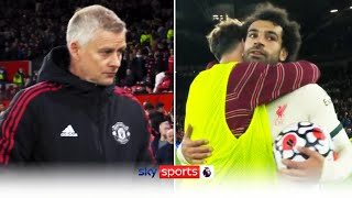 Final whistle reaction!   Liverpool hit FIVE past Manchester United to put pressure on Solskjaer