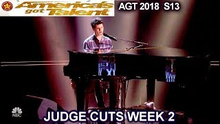 "Joseph O'Brien Original Song ""The Average"" his 2nd Chance America's Got Talent 2018 Judge Cuts 2 AGT"