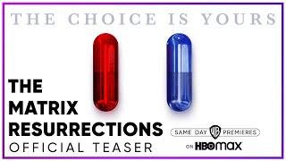 The Matrix Resurrections | Official Teaser | HBO Max