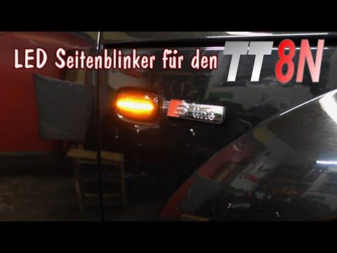 LED Blinker von Letronix für den Audi TT8N nachrüsten | schrauba