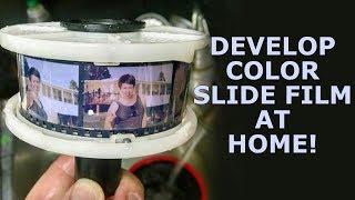Develop Color Slide Film (Ektachrome) at Home!