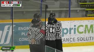 HIGHLIGHTS: Merritt Centennials @ Prince George Spruce Kings – November 7th, 2020