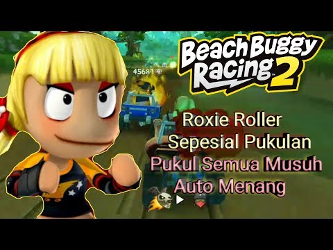 Pake Pembalap Roxie Roller - Ratain Area Balap Beach Buggy Racing 2 #Game_Android