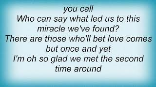 Andy Williams - Second Time Around Lyrics