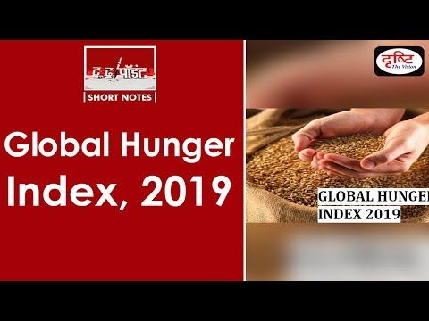 Global Hunger Index, 2019 - To The Point
