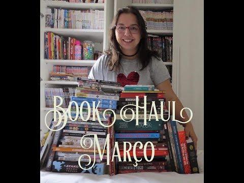 Book Haul Março| Muitos livros hqs e mangá | Leitura Mania