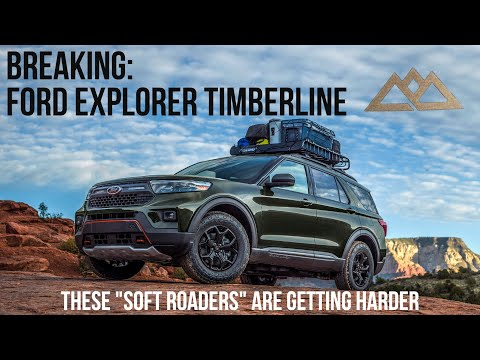 The 2022 Ford Explorer Timberline Blurs The Lines Of Offroader And Softroader