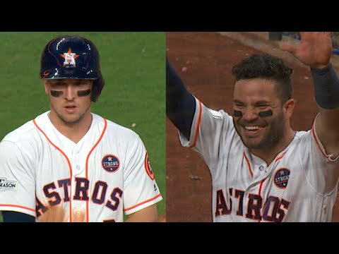 ALCS Gm6: Altuve homers, Bregman drives in two in 8th
