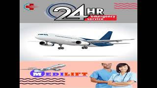 Obtain Medilift ICU Support Air Ambulance Service in Ranchi and Raipur