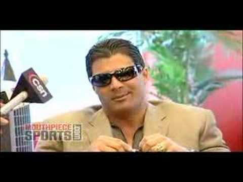 Steroids and Magglio Ordonez with Baseball Legend Jose Canseco