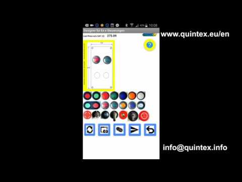 Quintex Ex e control box designer App for Android