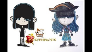 The Loud House Characters as Descendants ( Disney)