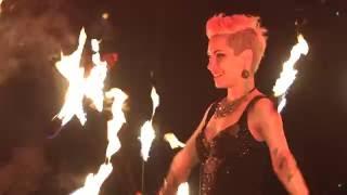 Grande Soirée Cabaret à l'espace Aumaillerie de Fougères Février 2016