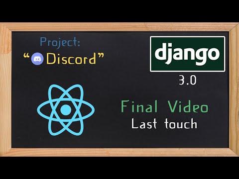 Django and ReactJS together - Final Video | 38 thumbnail