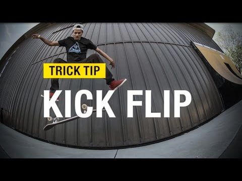 Trick Tips: How to Kickflip with Chico Brenes