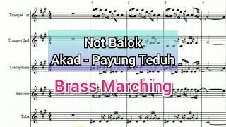Not Balok Akad - Payung Teduh (cover Not Tune)