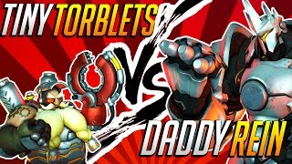 """""""Daddy Rein Chases Tiny Torblets"""" 