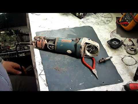 restaurare polizor unghiular bosch gws 14 125 c