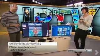 Telia TV (IPTV) testes i Go'Morgen Danmark   Telia Danmark