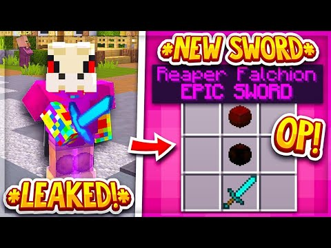 Hypixel Skyblock: *New* DUNGEON WEAPON LEAKED (REAPER FALCHION SWORD)