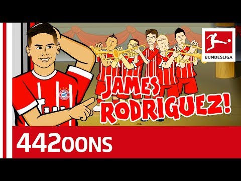The James Rodriguez Song - Powered by 442oons