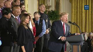 President Trump Delivers Remarks on Combating Drug Demand and the Opioid Crisis