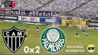 MELHORES MOMENTOS E GOLS ~ Atlético-MG 0x2 Palmeiras ~ 12/05/2019 ~ Brasileirão