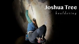 bouldering shenanigans (into the night!) 🌙 🏜️ | the Joshua Tree Chronicles Ep1 by Anna Hazelnutt