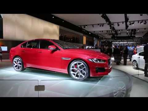 2017 Jaguar XE Preview: 2014 Paris Auto Show