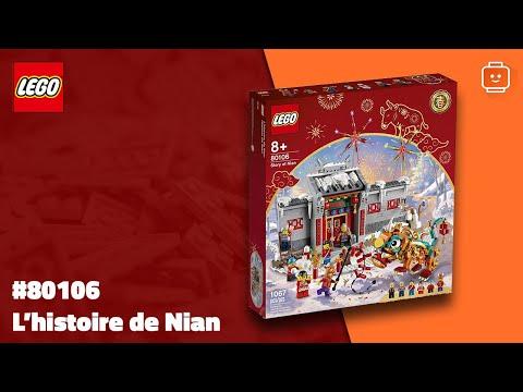 Vidéo LEGO Saisonnier 80106 : L'histoire de Nian