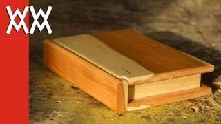 Wooden Book Keepsake Box. Valentines Day Gift Idea!