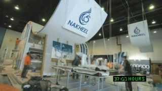 EXHIBITION STAND BUILD UP