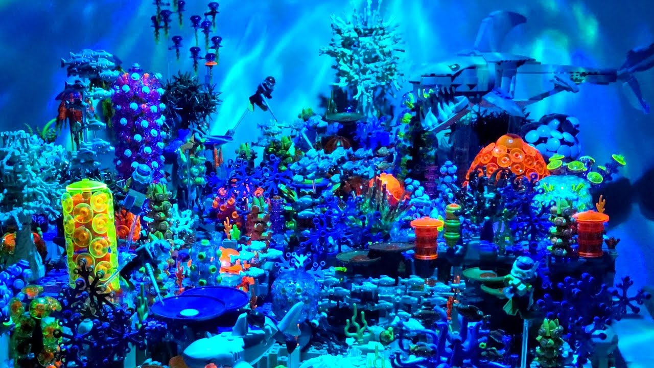 Marine Biologist Creates Amazing LEGO Coral Reef