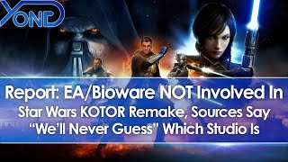 Report: EA & Bioware NOT Involved In Rumored Star Wars Knights of the Old Republic Remake
