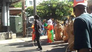 preview picture of video 'Carnival Opening Parade in Roseau Dominica'