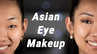 ASIAN EYE MAKEUP - How To Do Makeup On Asian Eyes And Mono-lids Tutorial