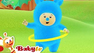 Billy & BamBam - El baile del hula hoop, BabyTV Español