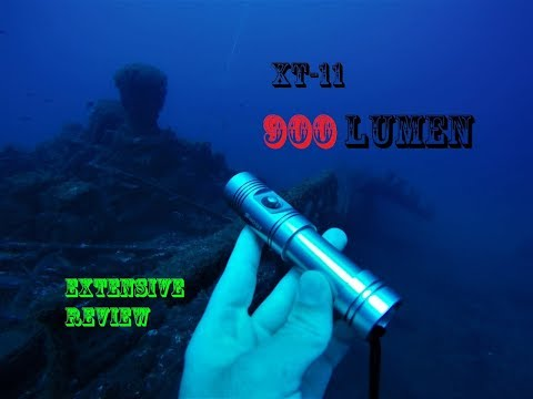 REVIEW: Best Budget light for beginner?? Shoot XT-11 diving torch