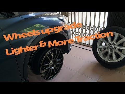 Upgrade JDM Enkei GTC01 & Alignment // Zoom Zoom Mazda CX 5 KE