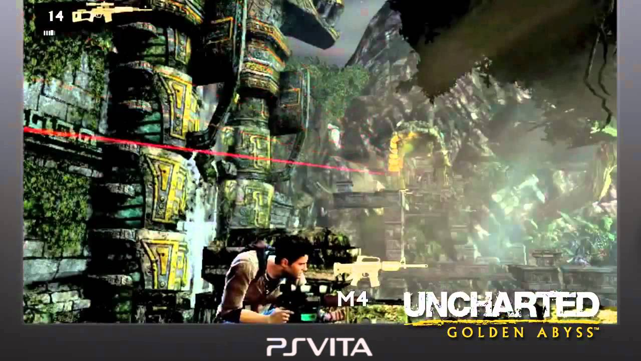 Uncharted On PlayStation Vita Can Have You Tilting, Tapping & Sliding