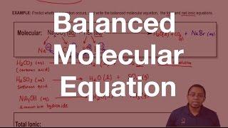Balanced Molecular Equation