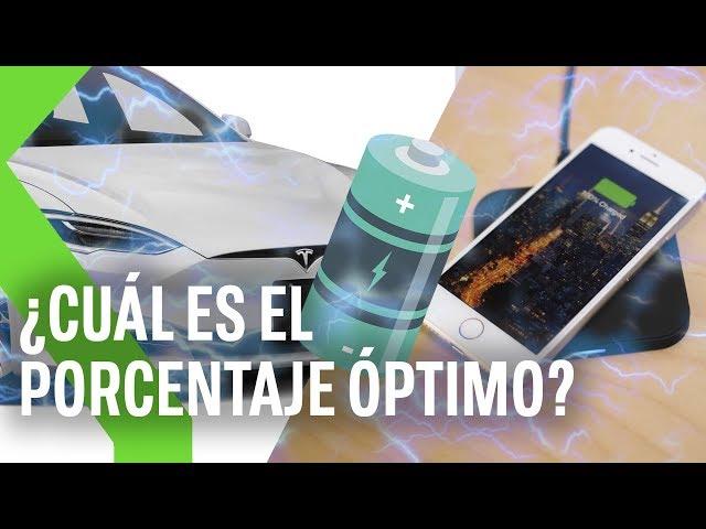 NUNCA al 100%: ¿Por qué APPLE o TESLA recomiendan mantener nuestras baterías entre el 20% y el 80%?