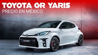El Toyota GR Yaris viene a México y ya tiene precio: un WRC legal para calles