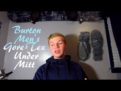 Burton Gore-Tex Mitts Review! (The best snowboarding gloves?!)