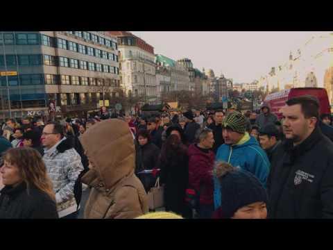 Akce podnikatelů a veřejnosti proti elektronické evidenci tržeb v Česku