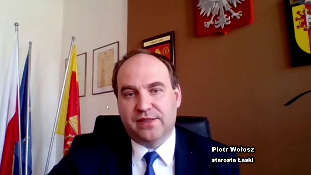 Życzenia Wielkanocne starosty Piotra Wołosza