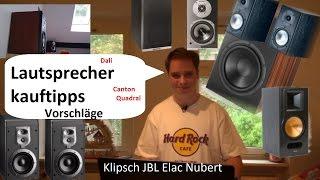Regallautsprecher HiFi Lautsprecherkauftipps und Empfehlung Mittelklasse Lautsprecher Kaufempfehlung