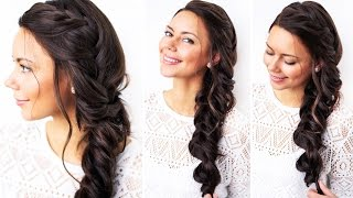 How to: Triple Braid Hair Tutorial | Luxy Hair