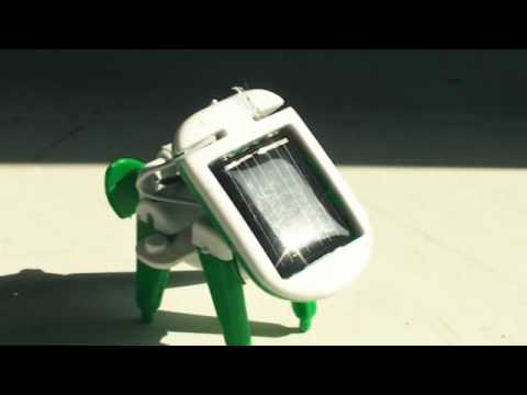 Youtube Video for 6 in 1 Solar Robot Kit