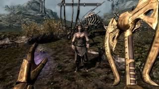 The Elder Scrolls 5 Skyrim путь последних Двемеров часть 350 Избранница Дибеллы